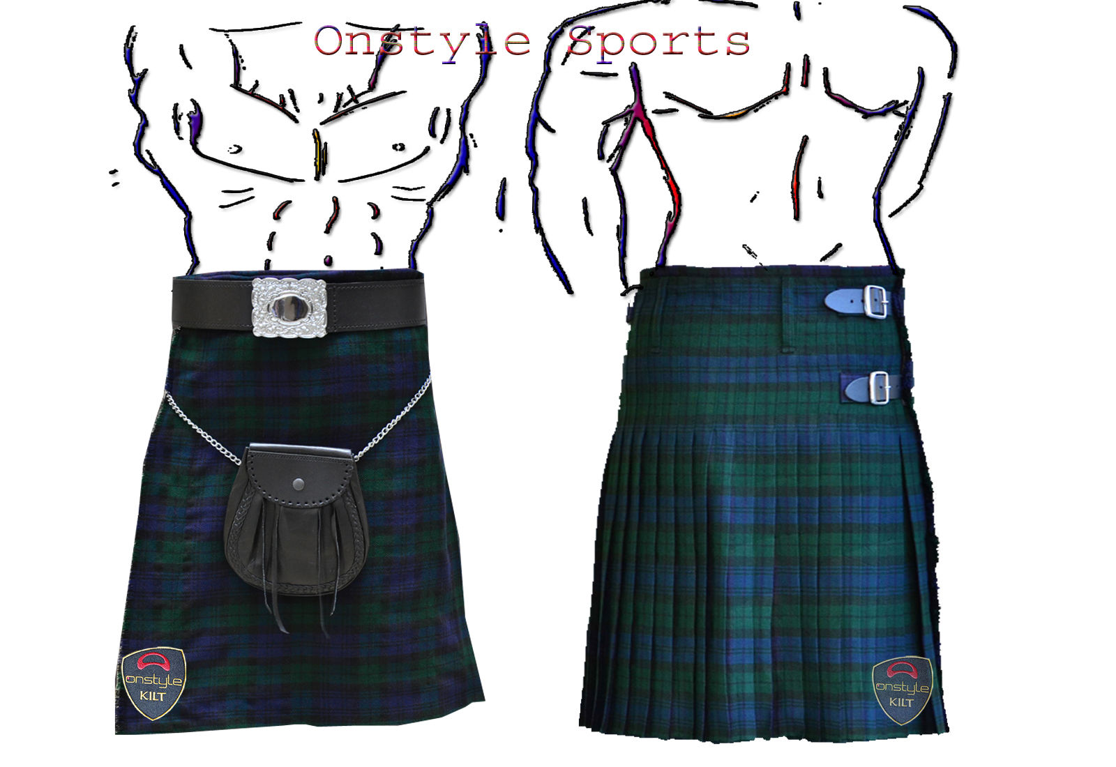 Black Watch Tartan Kilts